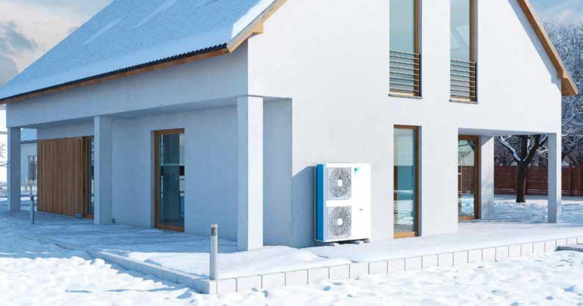 Altherma 3 H | Pompa di calore Hydrosplit, con solo collegamenti acqua
