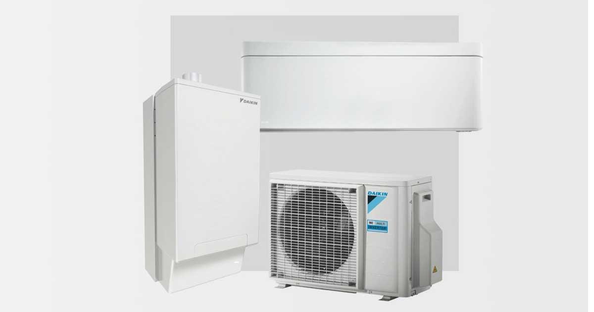 HPU Hybrid + Multi | Multisplit, riscaldamento ibrido, raffrescamento ad aria