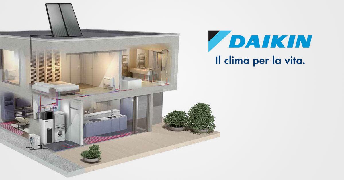 Impianti di riscaldamento ambienti Daikin | S.I.R.comm Srl