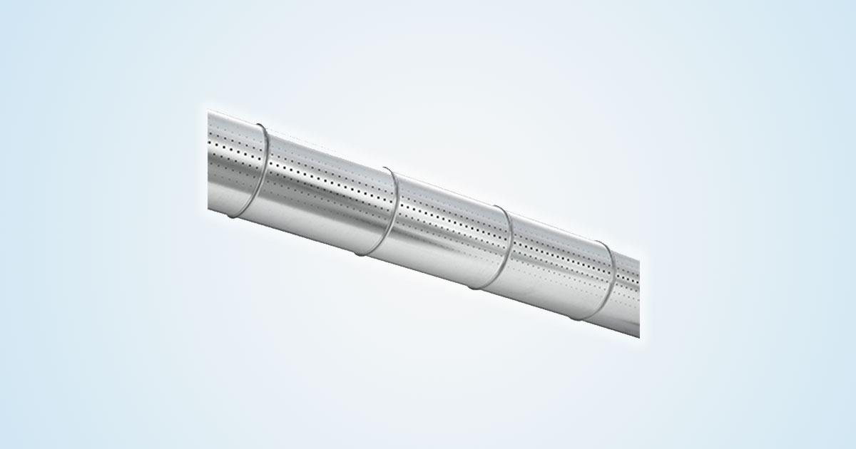 Tubazioni induttive per diffondere l'aria in piccoli o grandi ambienti